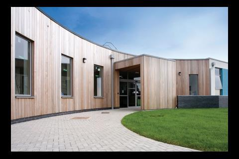 HLM Architects' Whitleigh primary school in Plymouth. Education has been a key market for M&E specialists